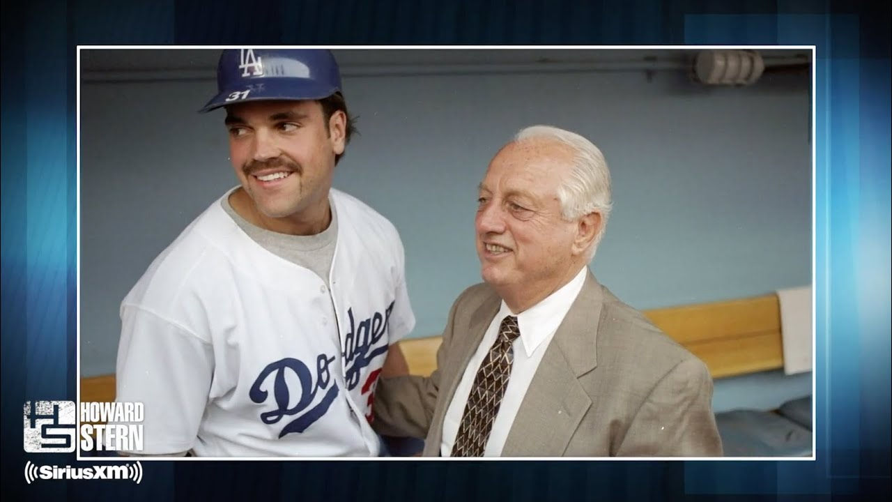 Mike Piazza Was Only Drafted by the Dodgers Because Tommy Lasorda Was a Family Friend (1998)