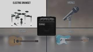 Laney AH40 Multi Instrument Amplifier   Audiohub