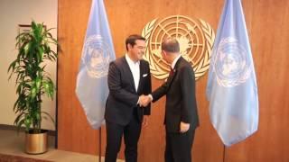 Νέα Υόρκη: Ο Αλέξης Τσίπρας στην 71η Γενική Συνέλευση του ΟΗΕ