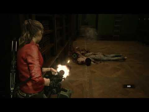 Resident Evil 2 Remake Infinite Minigun Ammo Gameplay
