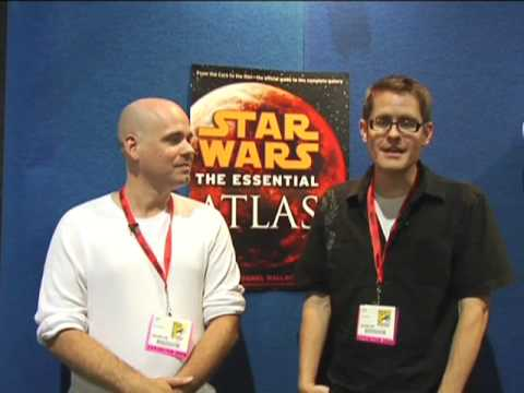 Dan Wallace & Jason Fry on Researching the Atlas | SDCC 2009