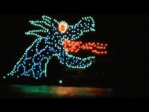 Electric Water Pageant, Wilderness Lodge, Walt Disney World (HD 1080p)