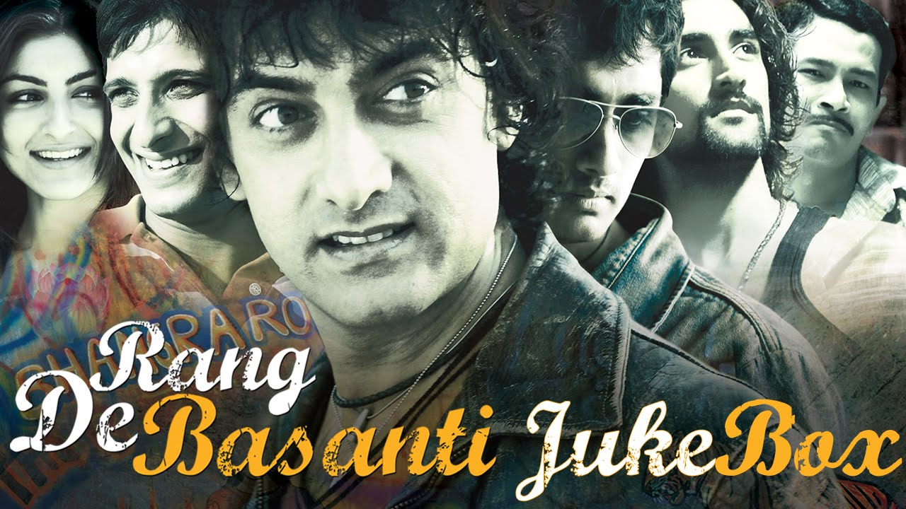 Rang De Basanti Jukebox - YouTube