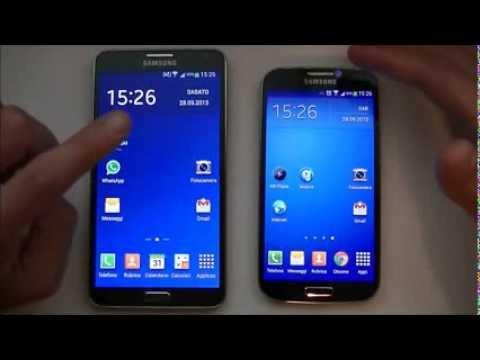 Samsung Galaxy Note 3 Vs Samsung Galaxy S4 Ita Da EsperienzaMobile