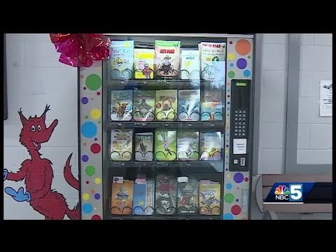 Karla Cantrell - Book Vending Machine!