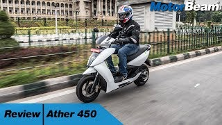 The Ather 450 is an all-new all-electric scooter by Ather Energy. C...