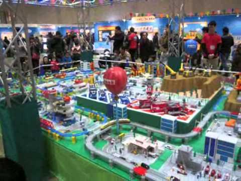 トミカ博2013札幌巨大ジオラマ