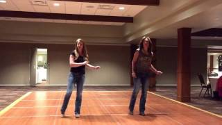 Dirt On My Boots Line Dance (instructional video)