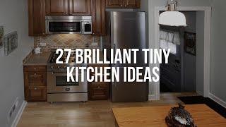 🔴 27 Brilliant TÏNY KITCHEN IDEAS