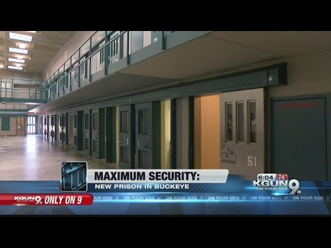 Rare look inside an Arizona maximum security prison