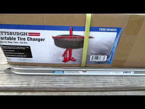 Download video: Harbor Freight Manual Tire Changer
