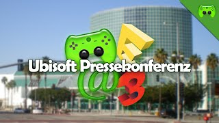 E3 STREAMS 2015 - Ubisoft Pressekonferenz «» #PietStream | Live-Mitschnitt Full HD