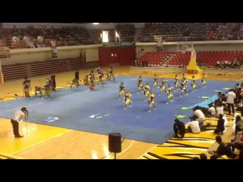 Ust pharma dance troupe cheermania 2013