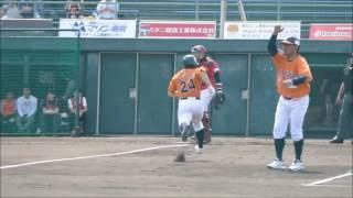 古川敬也選手 2点タイムリーツーベースヒット(2017/04/22)