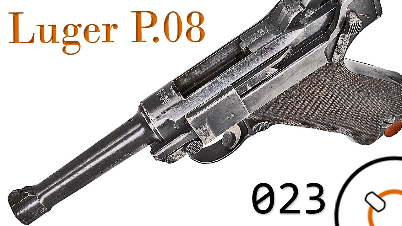 Small Arms of WWI Primer 023: German Pistole 08