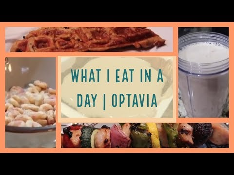 WHAT I EAT IN A DAY TO LOSE WEIGHT | OPTAVIA EDITION