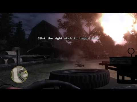 CALL OF DUTY 3! DRIVING A CAR!
