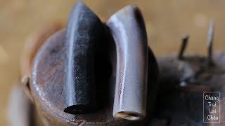 Blacksmithing Vietnam-Buffalo horn hilt