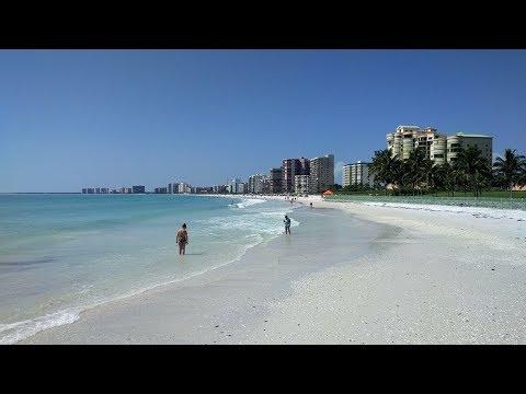 South Marco Beach on Marco Island, Florida