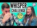 WHISPER CHALLENGE With Davis! | Casey Holmes