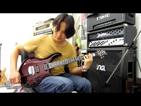 Ernie Ball Music Man John Petrucci Majesty Monarchy Guitar Demo By อ.โอ๋ The Guitara