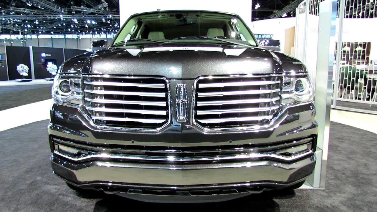 2015 lincoln navigator exterior and interior walkaround 2014 chicago auto show youtube