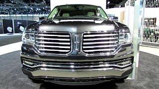 2015 Lincoln Navigator Exterior and Interior Walkaround 2014 Chicago Auto Show