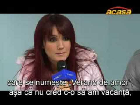 Interview de Dulce Maria antes de concierto de RBD en Serbia   18 12 '08