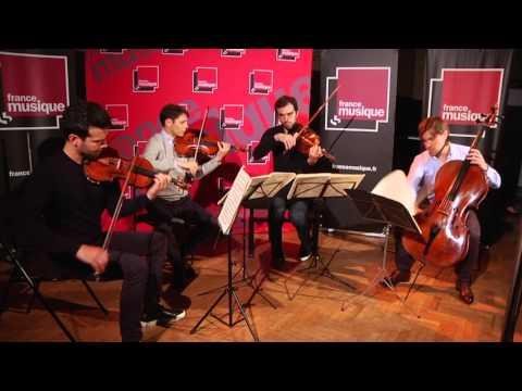 Dvořák : Quatuor américain, par le Quatuor Modigliani