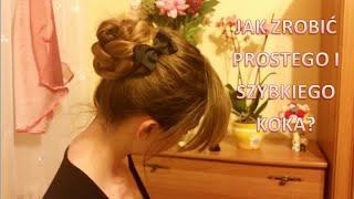 Sposób na szybką fryzurę z długich włosów - Czyli jak zrobić prostego koka?