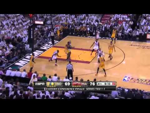 Indiana Pacers 87 x 99 Miami Heat Final Game 3 NBA 2013/2014