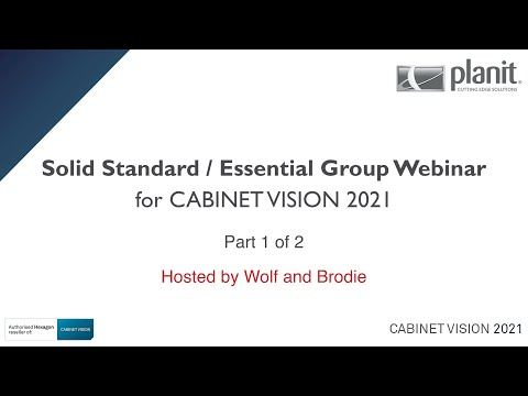 CV2021 Group Webinar - Solid Standard - Part1