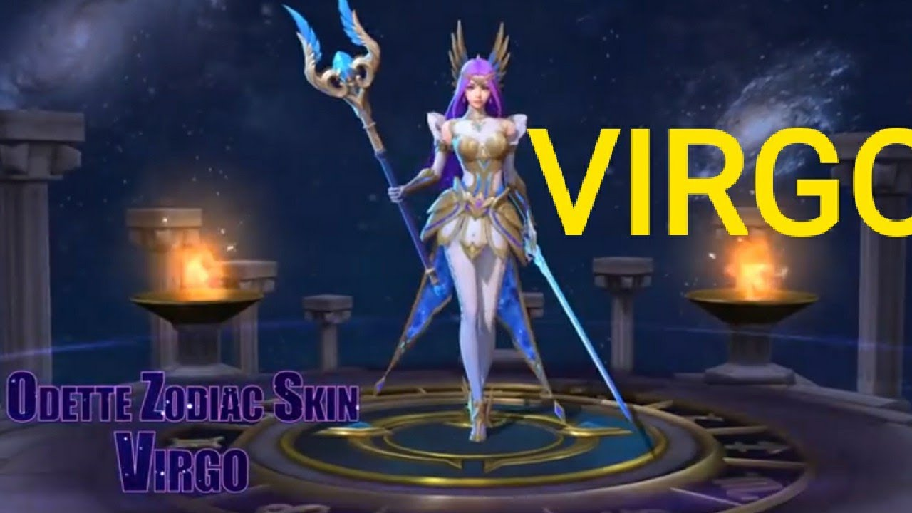 wow odette new skin | virgo | mobile legends: bang bang