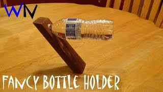 How To Make A Wine/water Bottle Holder | Great Last Minute Gift Idea!