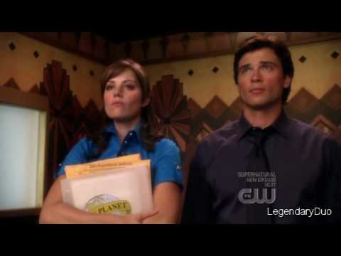 "Clark Kent & Lois Lane: ""Statistically this is the safer way to travel"" (Season 8)"
