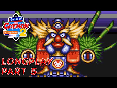 Ganbare Goemon 2 (English) (SNES) Longplay - Area 5 (Part 5 Of 9)