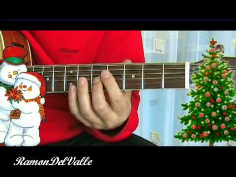 Winter wonderland - Jazzy chords for guitar