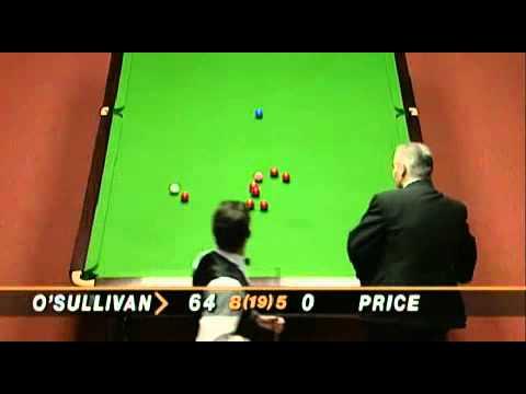ronnie o'sullivan maximum break 147 ( เร็วที่สุดในโลก )