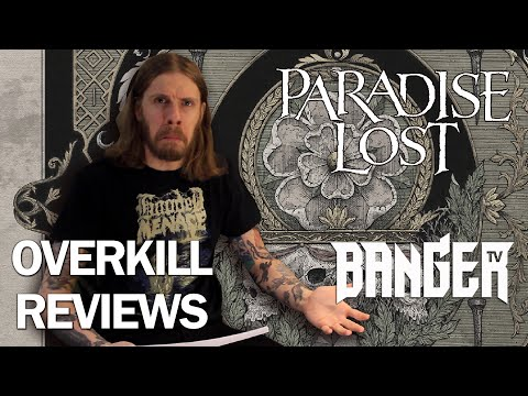 PARADISE LOST Obsidian Album Review | Overkill Reviews
