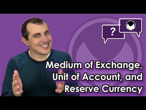 🎬 Aantonop: Bitcoin Q&A: Medium of exchange, unit of account, and reserve currency