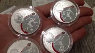 Время почты #13. Серебряные монеты футбол 2018. Покупка серебренных монет через интернет(, 2017-02-26T09:00:02.000Z)