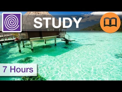 ♫ 7 HOURS!  ☯ Homework Music - Study Playlist - For Brain Concentration - Study Better