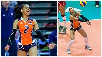 Winifer Fernandez | Beautiful and Talented Volleyball Libero (HD)