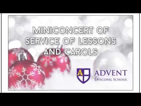 Miniconcert Advent Episcopal School @ Kiwanis Dec 18 2018