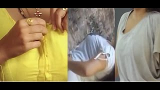 New Namitha dress clothes changing video clip 2017