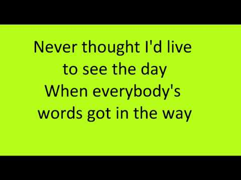 Everybody Talks-Neon Trees-Lyrics