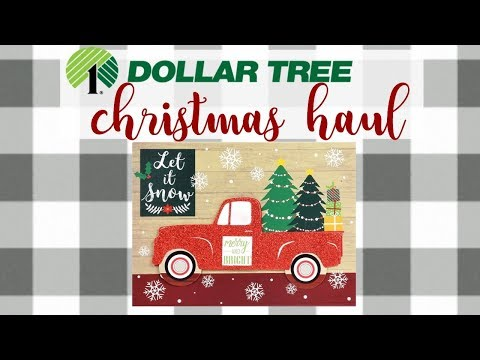 DOLLAR TREE HAUL | omg so happy I found this!! Christmas & other items | October 9 2017