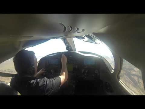 Flying the Citation Mustang KGYR to KHIO