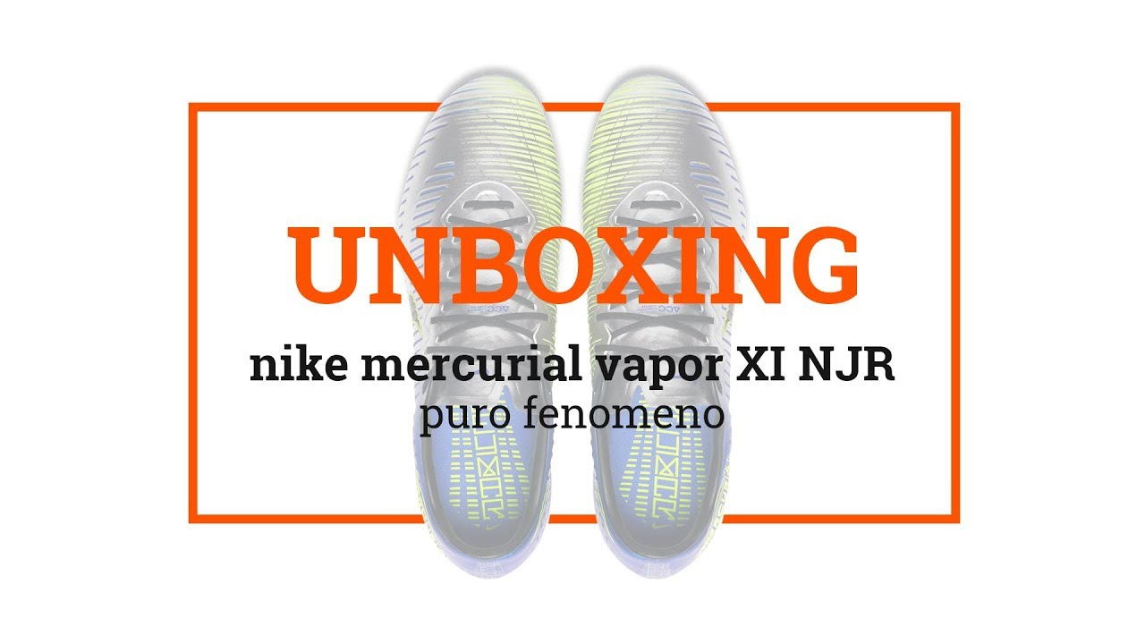 7171f04a1be2 UNBOXING: Nike Mercurial Vapor XII Neymar - Puro Fenomeno - YouTube