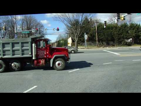Driving Loch Raven In Baltimore , Maryland